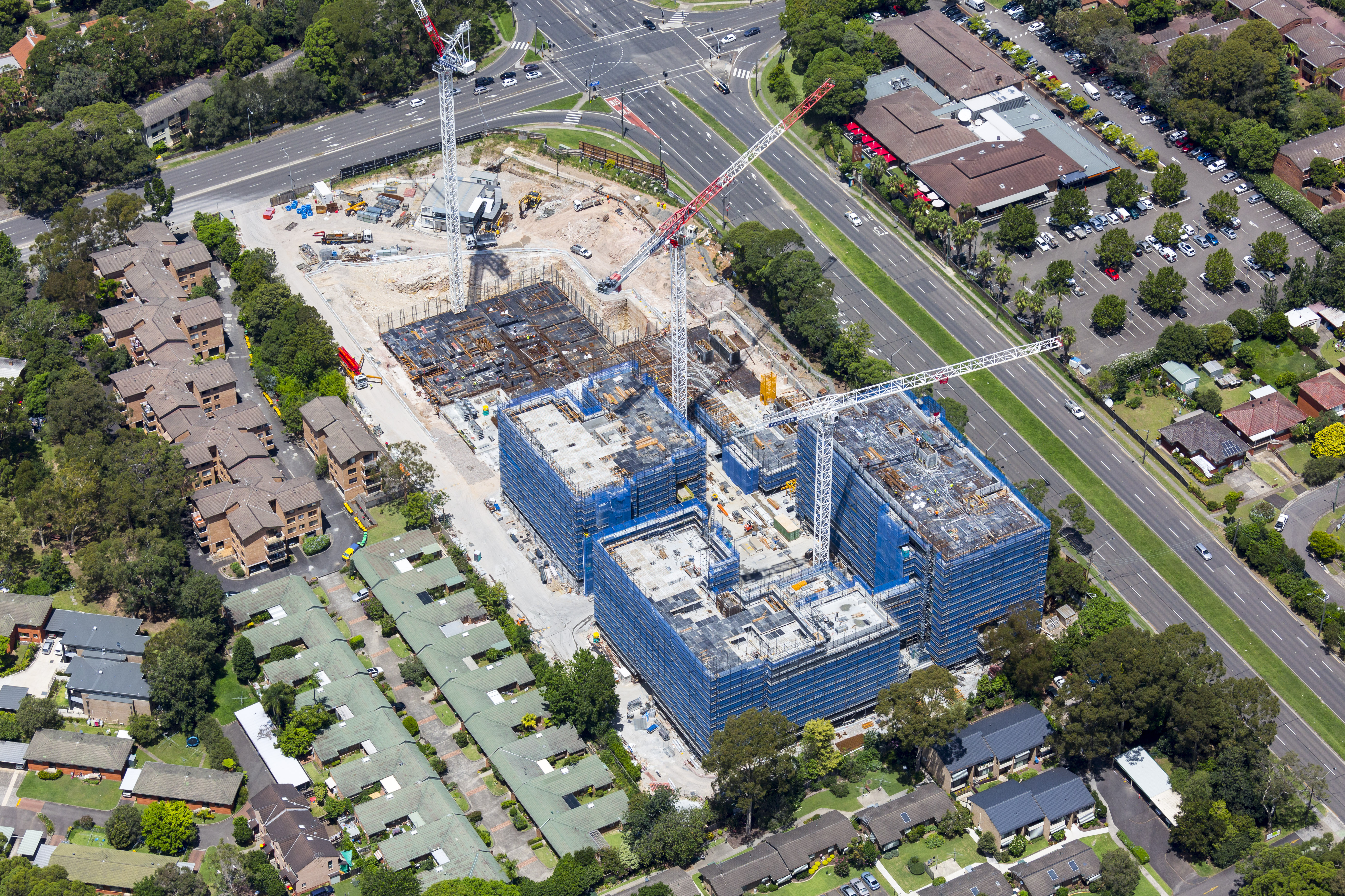 Oakstand macquarie park village commenced 2015 for Macquarie university swimming pool